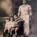 Madre e hijos, estudio Cassis (1922)